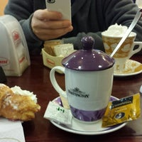 Photo taken at Tebro Café by sonia m. on 11/30/2013