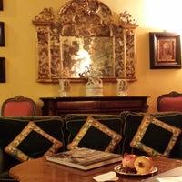 Photo taken at Villa Milani Residenza d'Epoca by sonia m. on 11/1/2013
