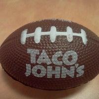 Photo taken at Taco John's by Brett M. on 9/30/2012