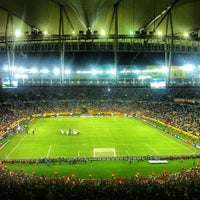 Photo taken at Mário Filho (Maracanã) Stadium by T. A. on 6/16/2013