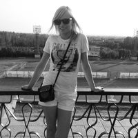 Photo taken at Стадион им. Логинова ДЮСШ #1 по легкой атлетике by Дарья Д. on 5/23/2014