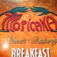 Photo taken at Tropicana Diner by Nelson G. on 3/17/2013