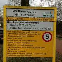 Photo taken at Milieustraat De Bilt by Vincent F. on 3/30/2013