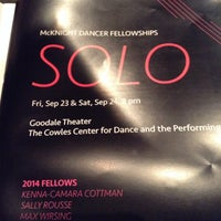 Photo taken at The Cowles Center for Dance & The Performing Arts by Nancy H. on 9/25/2016