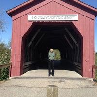 Photo taken at Covered Bridge Park by Nancy H. on 9/27/2015