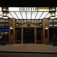 Photo taken at Hotel Bristol by Michael S. on 11/18/2012