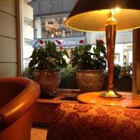 Photo taken at Mandarin Oriental Munich by Michael S. on 10/24/2012