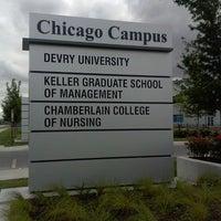 Photo taken at DeVry University Chicago Campus by Kenyadi on 7/27/2013