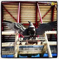 Photo taken at Estádio do Sport Lisboa e Benfica by Joel S. on 4/13/2013
