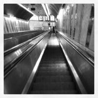 Photo taken at Metro Olivais [VM] by Joel S. on 7/2/2013