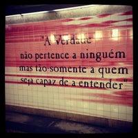 Photo taken at Metro Olivais [VM] by Joel S. on 7/25/2013