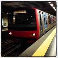Photo taken at Metro Saldanha [AM,VM] by Joel S. on 7/25/2013