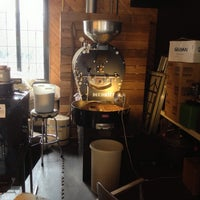 Photo taken at Republica Coffee Roasters by Petr S. on 8/14/2013
