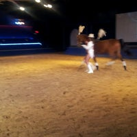 Photo taken at Dancing Horses Theater by Rachel R. on 4/27/2013