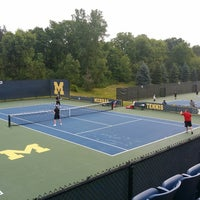 Photo taken at University of Michigan Varsity Tennis Center by Scott R. on 8/2/2014