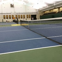 Photo taken at University of Michigan Varsity Tennis Center by Scott R. on 2/22/2014