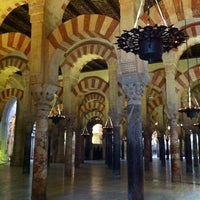Photo taken at Mosque-Cathedral of Cordoba by Amy C. on 2/4/2013
