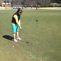 Photo taken at Braelinn Golf Course by Amanda S. on 3/19/2013