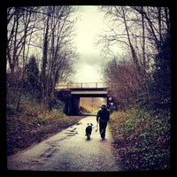 Photo taken at Fallowfield Loop by Jack H. on 2/9/2014