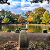 Photo taken at Bowne Park by Patrick P. on 10/22/2013