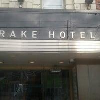 Photo taken at Drake Hotel by Clayton R. on 11/26/2012