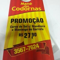 Photo taken at Bar do Mané - O Rei das Codornas by Rodrigo F. on 1/30/2013