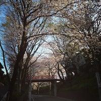 Photo taken at 桜坂 by Hiroki O. on 3/25/2013