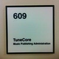 Photo taken at TuneCore Publishing by Janette B. on 10/31/2013