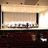Photo taken at Jeff High School Theater by David B. on 4/12/2013