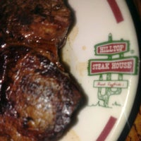 Photo taken at Hilltop Steakhouse by David S. on 10/14/2013