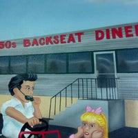 Photo taken at 50s Diner Backseat Bar by Fred W. on 9/22/2012