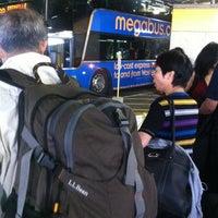 Photo taken at Megabus Stop - Washington, DC by Lobga G. on 10/3/2012