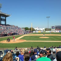 Photo taken at George M Steinbrenner Field by Jeff R. on 3/16/2013