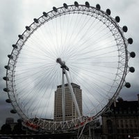 Photo taken at The London Eye by Nastya on 7/20/2013