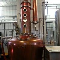 Photo taken at Smooth Ambler Spirits Distillery by Scott H. on 2/18/2014