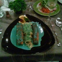 Photo taken at Kraftwerk Restaurant by Lisa B. on 9/12/2013