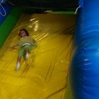 Photo taken at Boomers Family Fun Center by Gita D. on 3/22/2014