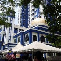 Photo taken at Masjid Jamek IPD Dang Wangi by Acai P. on 9/14/2012
