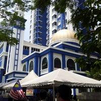 Photo taken at Masjid Jamek IPD Dang Wangi by Acai P. on 5/10/2013