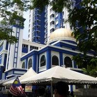 Photo taken at Masjid Jamek IPD Dang Wangi by Acai P. on 10/5/2012