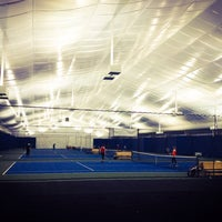 Photo taken at Abony Family Tennis Center by Danny C. on 2/9/2014