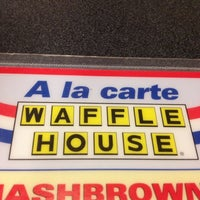 Photo taken at Waffle House by Stephanie T. on 11/27/2012