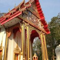Photo taken at Wat Tan Paaklad by Manoj B. on 3/30/2013