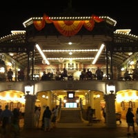 Photo taken at Walt Disney World Railroad - Main Street Station by Michael G. on 11/4/2012