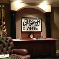 Photo taken at Johnson, Morgan & White by Craig A. on 3/28/2013