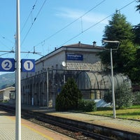 Photo taken at Stazione Domegliara by Marco S. on 4/22/2014