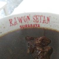Photo taken at Rawon Setan Cabang BPN By. Suprijadi by Frans N. on 3/9/2014