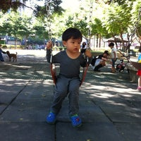 Photo taken at 中原公園 by Bevis L. on 10/21/2012