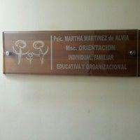 Photo taken at Psic. Martha de Alvia, MSC- Orientación. by Wester A. on 4/29/2013