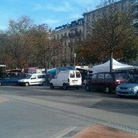 Photo taken at Plaine de Plainpalais by Yves M. on 10/21/2012